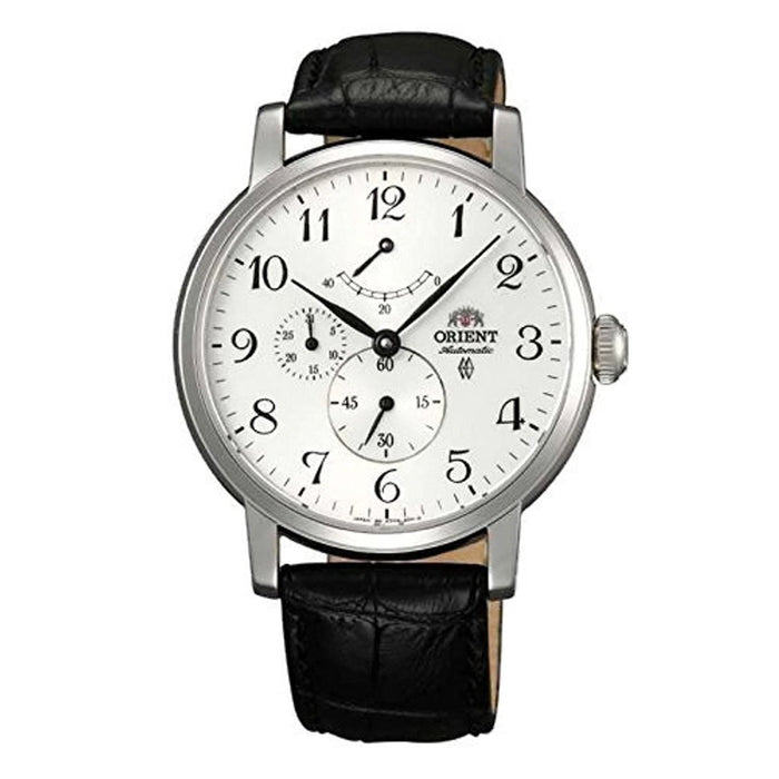 Orient Men's FEZ09005W0 Union Chronograph Automatic Black Leather Watch