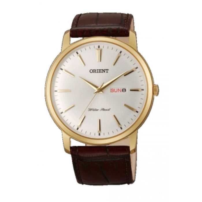 Orient Men's FUG1R001W6 Capital Brown Leather Watch