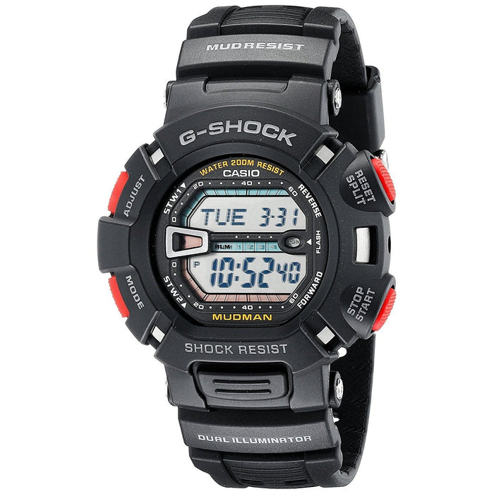 Casio Men's G9000-1V G-Shock Digital Black Resin Watch