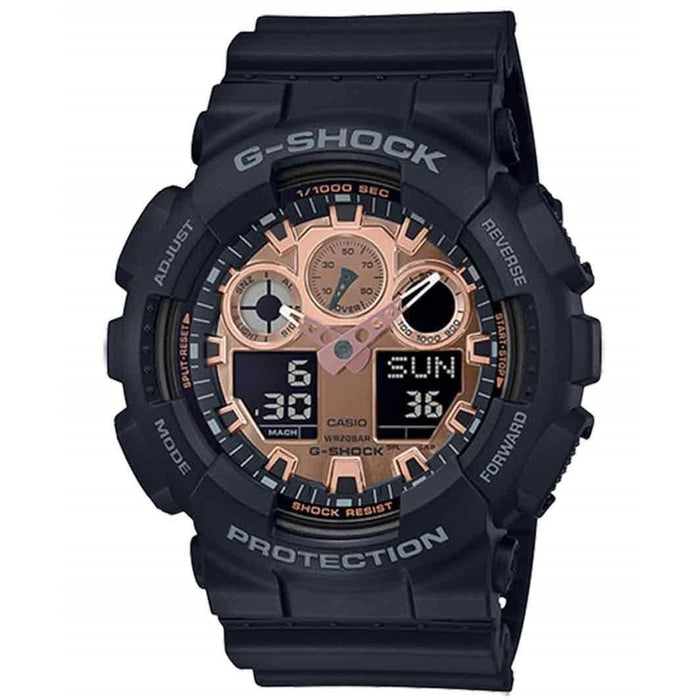 Casio Men's GA100MMC-1A G-Shock Black Resin Watch