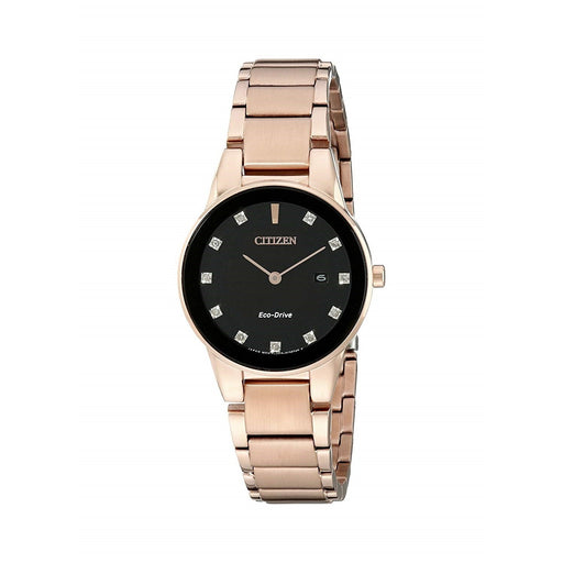 Citizen Women's GA1058-59Q Axiom Rose Gold-Tone Stainless Steel Watch