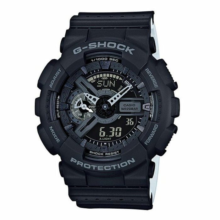 Casio Men's GA110LP-1A G-Shock Chronograph Analog-Digital Black Resin Watch