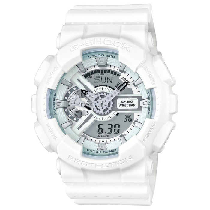 Casio Men's GA110LP-7A G-Shock Chronograph Analog-Digital White Resin Watch