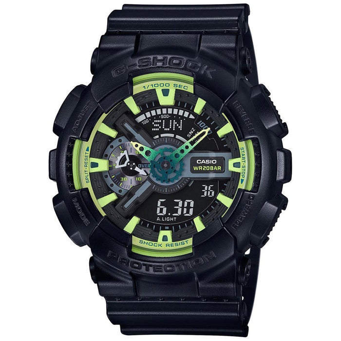 Casio Men's GA110LY-1A G-Shock Analog-Digital Black Resin Watch