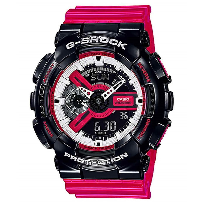 Casio Men's GA110RB-1A G-Shock Red Resin Watch