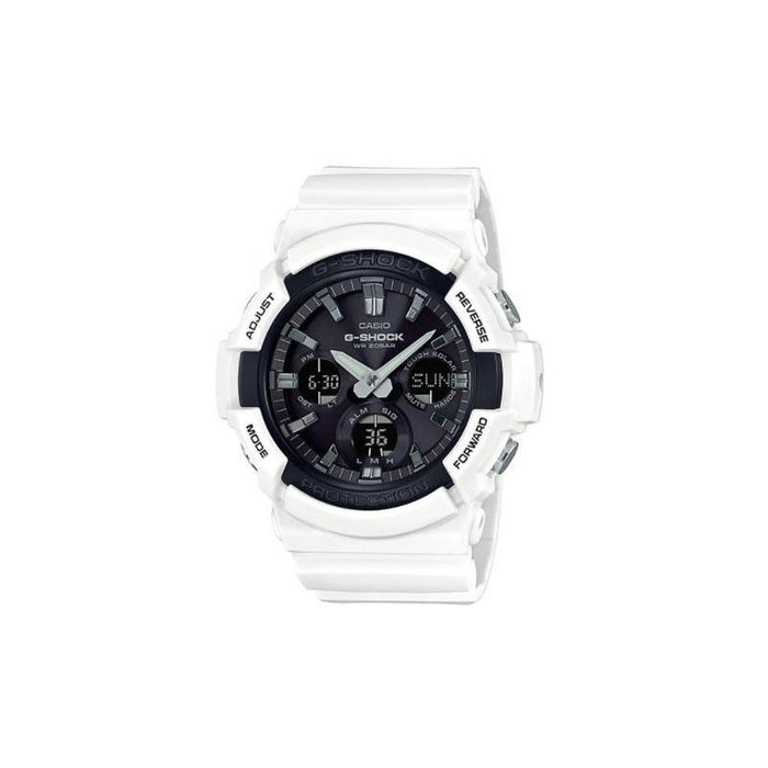 Casio Men's GAS100B-7A G-Shock White Resin Watch