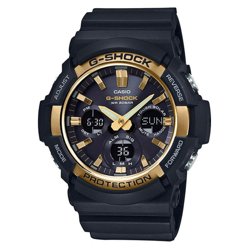Casio Men's GAS100G-1A G-Shock Chronograph Black Resin Watch
