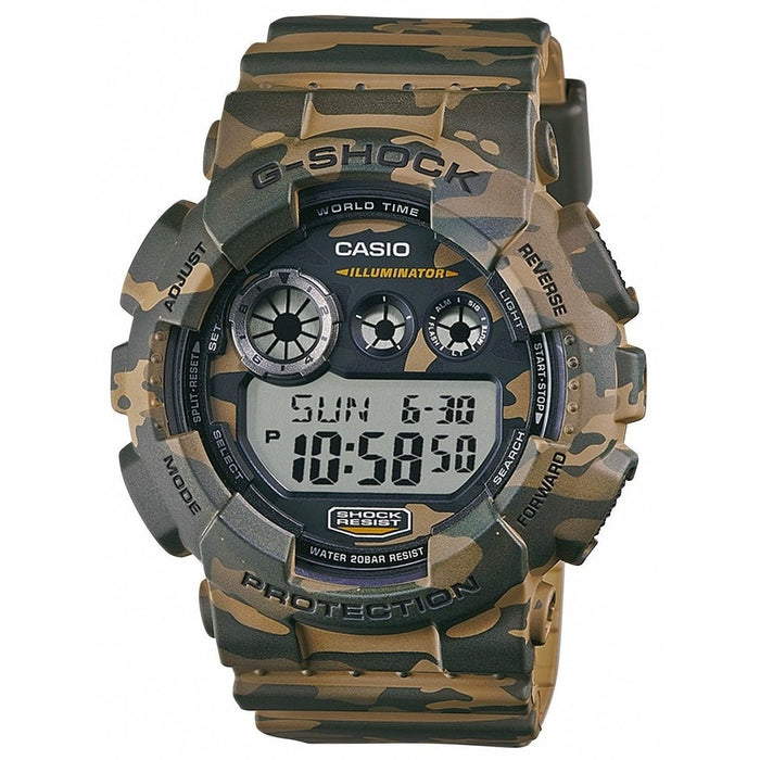 Casio Men's GD120CM-5 G-Shock Digital Brown Resin Watch