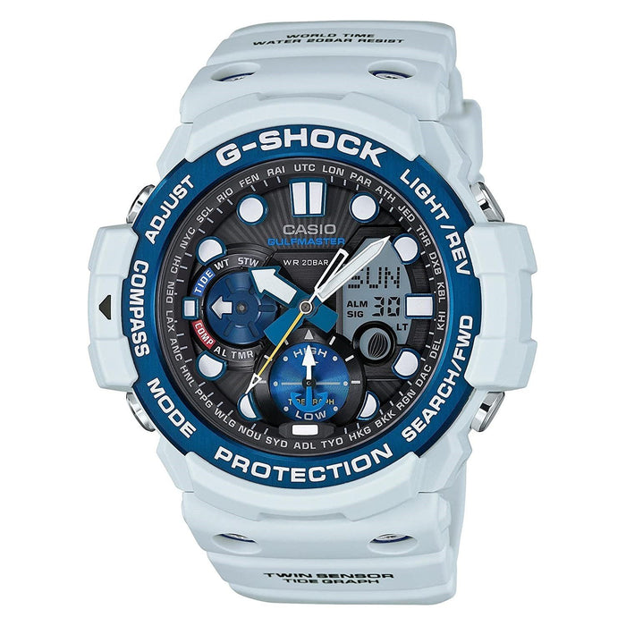 Casio Men's GN1000C-8A G-Shock Analog-Digital White Resin Watch