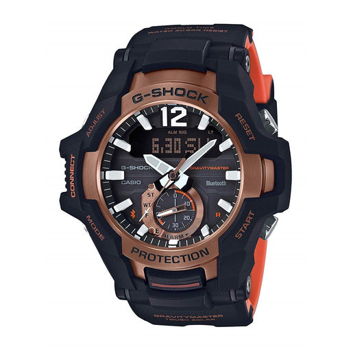 Casio Men's GRB100-1A4 G-Shock Black Resin Watch