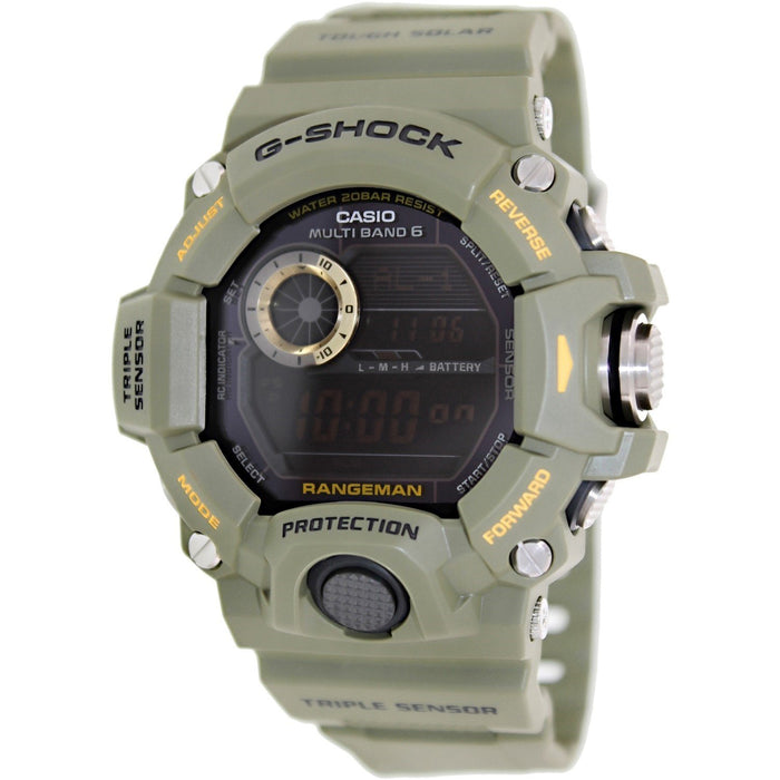 Casio Men's GW9400-3 G-Shock Digital Green Resin Watch