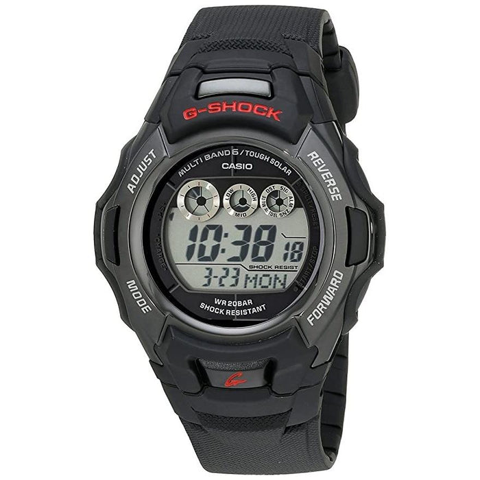 Casio Men's GWM500F-2 G-Shock Black Resin Watch