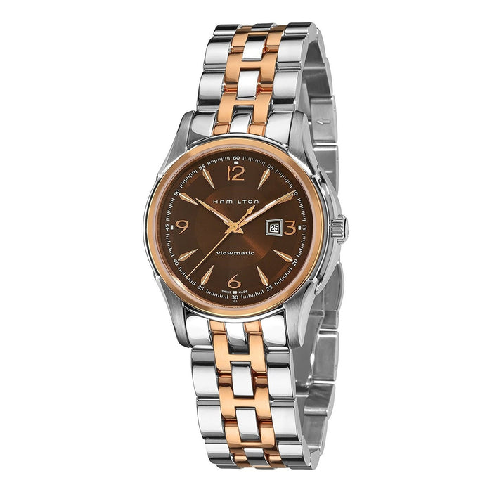 Hamilton Women's H32305195 Jazzmaster Viewmatic Automatic Two-Tone Stainless Steel Watch