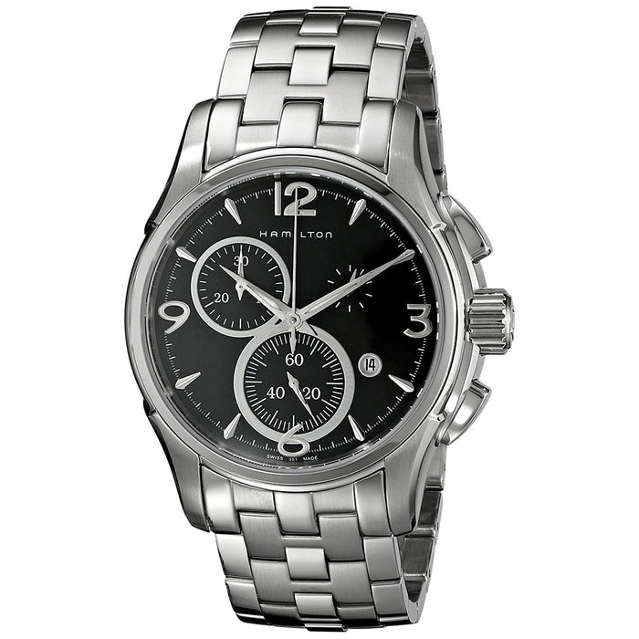 Hamilton Men's H32612135 Jazzmaster Chronograph Automatic Stainless Steel Watch