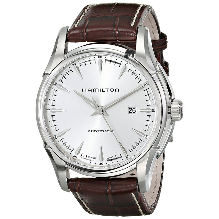 Hamilton Men's H32715551 Jazzmaster Viewmatic Automatic Brown Leather Watch
