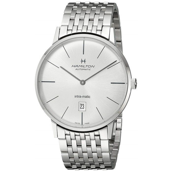Hamilton Men's H38755151 Intra-Matic Automatic Stainless Steel Watch