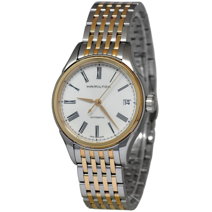Hamilton Women's H39425114 Valiant Automatic Two Tone Stainless Steel Watch