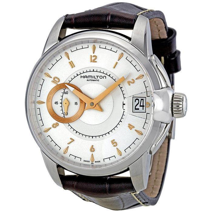 Hamilton Men's H40615555 Timeless Classic Railroad Automatic Brown Leather Watch