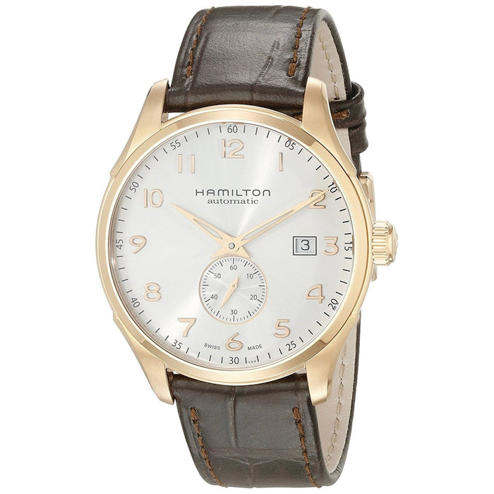 Hamilton Men's H42575513 Jazzmaster Maestro Automatic Brown Leather Watch