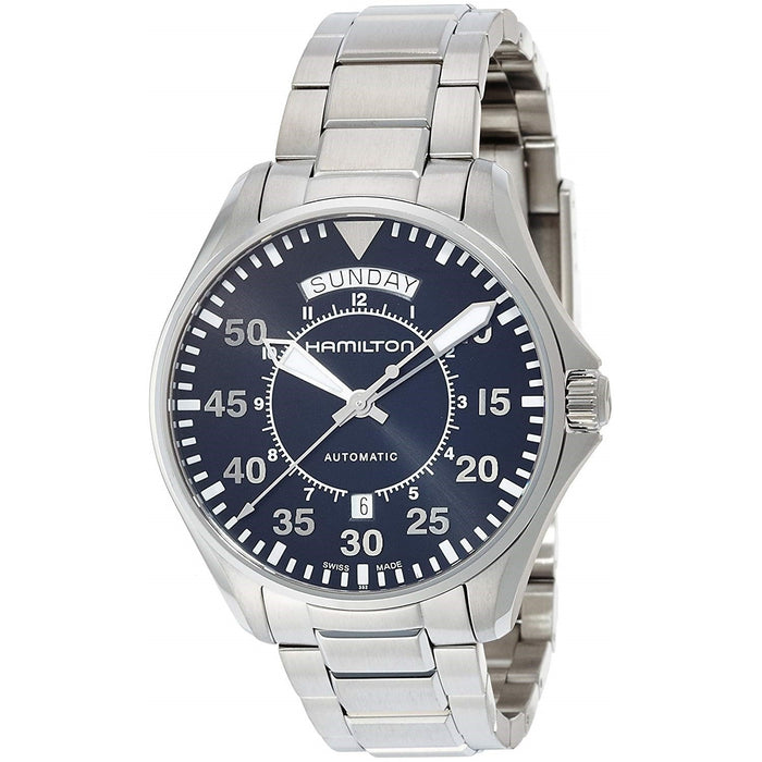 Hamilton Men's H64615135 Khaki Aviation Automatic Stainless Steel Watch