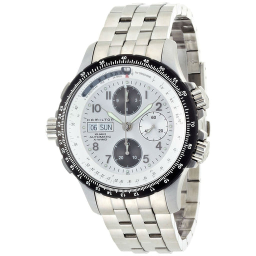 Hamilton Men's H77626153 Khaki King X Wind Chronograph Automatic Stainless Steel Watch
