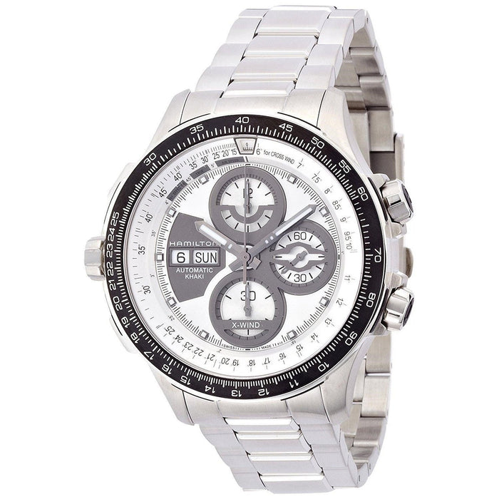 Hamilton Men's H77726151 Khaki X-Wind Chronograph Automatic Stainless Steel Watch