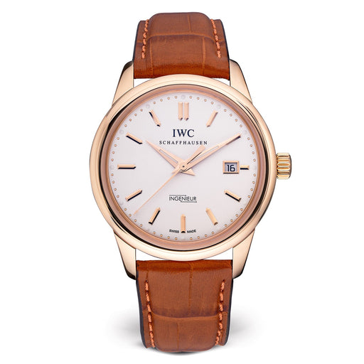 IWC Men's IW323303 Vintage Ingenieur Brown Leather Watch
