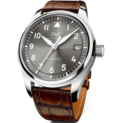 IWC Unisex IW324001 Pilot Automatic Brown Leather Watch