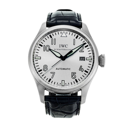 IWC Men's IW325519 Big Pilot Father And Son Lmtd Black Leather Watch