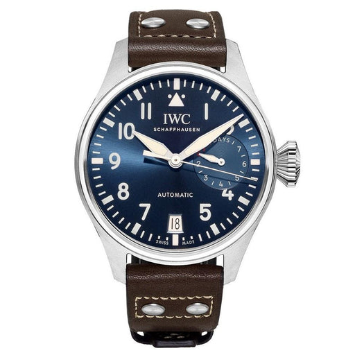 IWC Men's IW501002 Big Pilot Le Petit Prince Brown Leather Watch