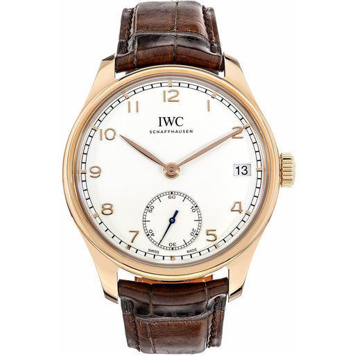 IWC Men's IW510204 Portuguese  Brown Leather Watch