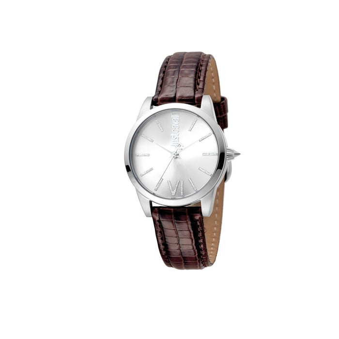 Just Cavalli Women's JC1L010L0015 Fashion Brown Leather Watch