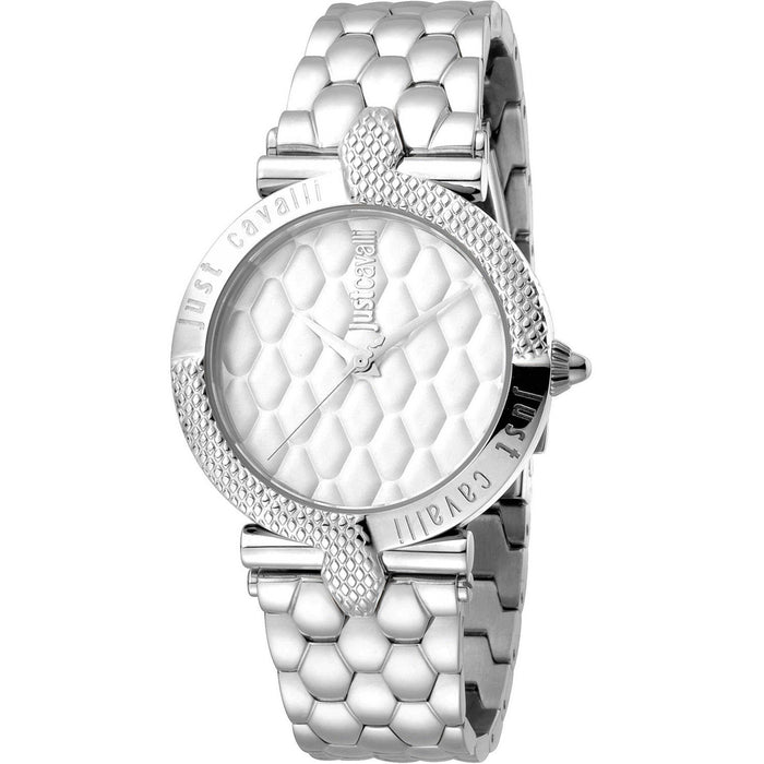 Just Cavalli Women's JC1L047M0055 Carattere Stainless Steel Watch
