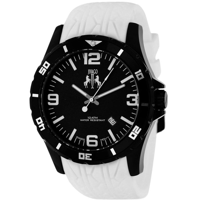 Jivago Men's JV0114 Ultimate White Silicone Watch