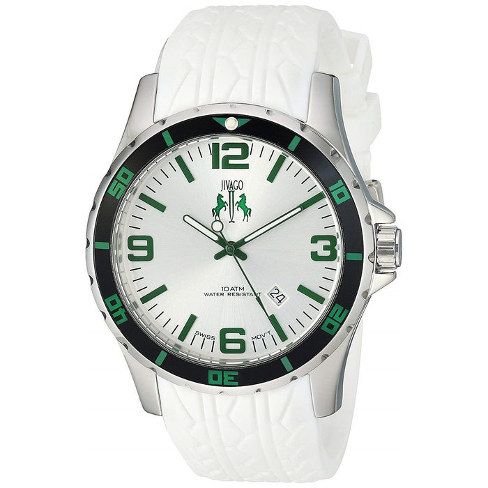 Jivago Men's JV0116 Ultimate White Silicone Watch