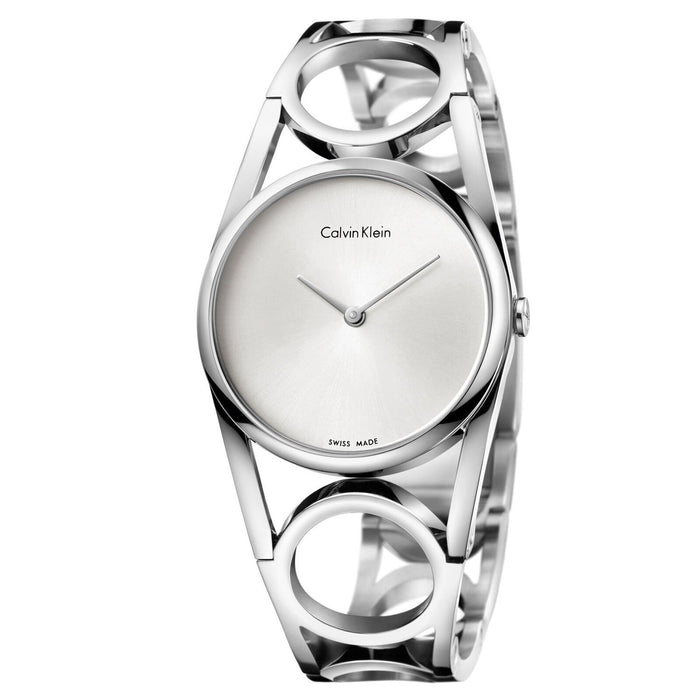 Calvin Klein Women's K5U2S146 Round Stainless Steel Watch