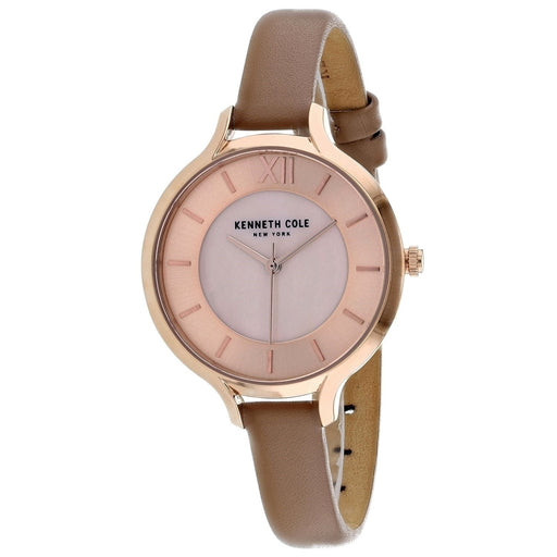 Kenneth Cole Women's KC15187004 Classic Pink Leather Watch