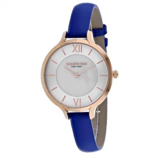 Kenneth Cole Women's KC15187007 Classic Blue Leather Watch