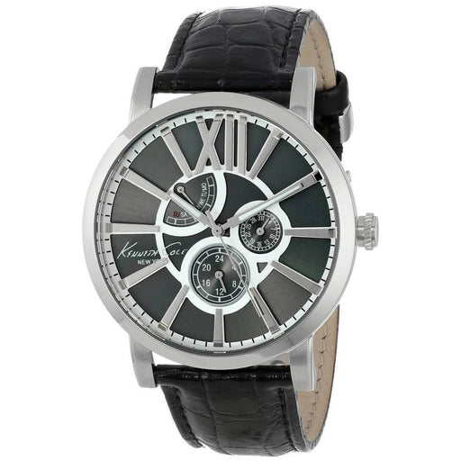 Kenneth Cole Men's KC1980 Kenneth Cole New York Black Leather Watch