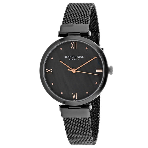 Kenneth Cole Women's KC50258006 Classic Black Stainless Steel Watch