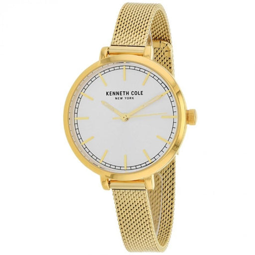 Kenneth Cole Women's KC50263006 Classic Gold-Tone Stainless Steel Watch