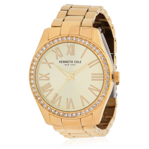 Kenneth Cole Women's KC50664001 Classic Gold-Tone Stainless Steel Watch