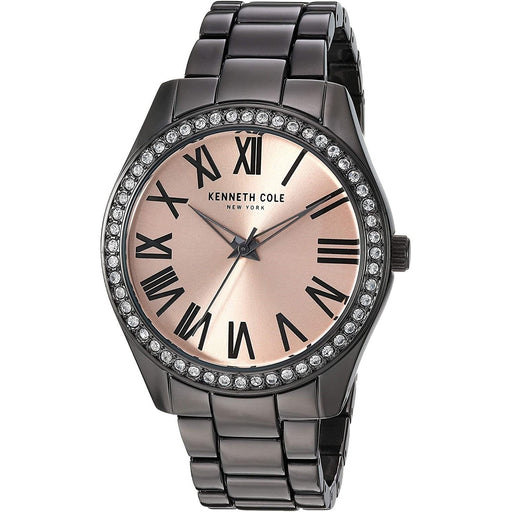 Kenneth Cole Women's KC50664005 Classic Grey Alloy Watch