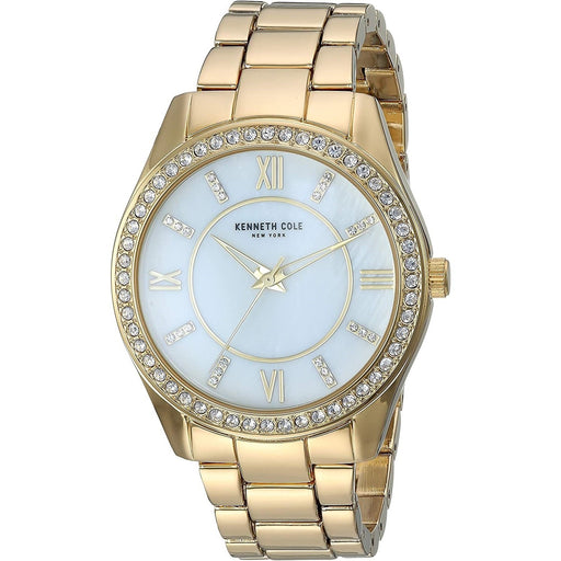 Kenneth Cole Women's KC50739003 Casual Gold-Tone Alloy Watch