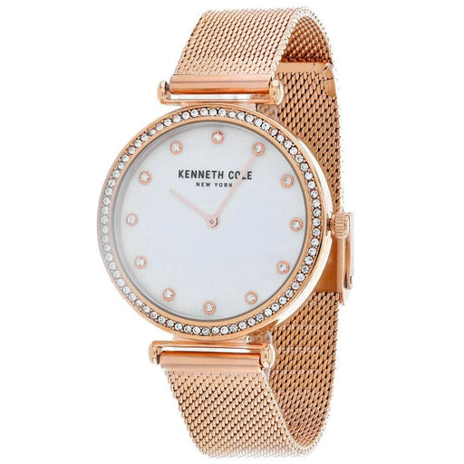 Kenneth Cole Women's KC50927004 Classic Rose Gold-Tone Stainless Steel Watch