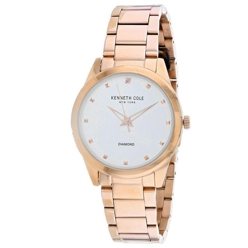 Kenneth Cole Men's KC50938002 Classic Rose Gold-Tone Stainless Steel Watch