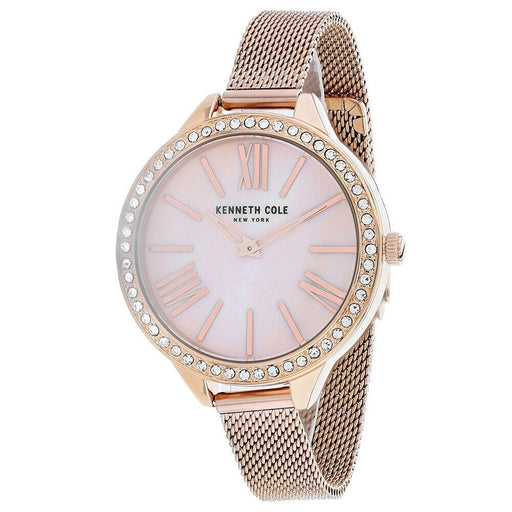 Kenneth Cole Women's KC50939002 Classic Rose Gold-Tone Stainless Steel Watch
