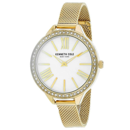 Kenneth Cole Women's KC50939004 Classic Gold-Tone Stainless Steel Watch