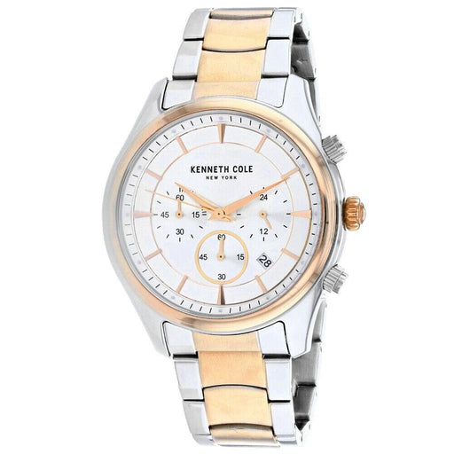 Kenneth Cole Men's KC50946003 Classic Chronograph Two-Tone Stainless Steel Watch