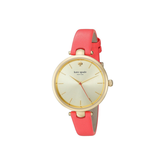 Kate Spade Women's KSW1135 Holland Pink Leather Watch